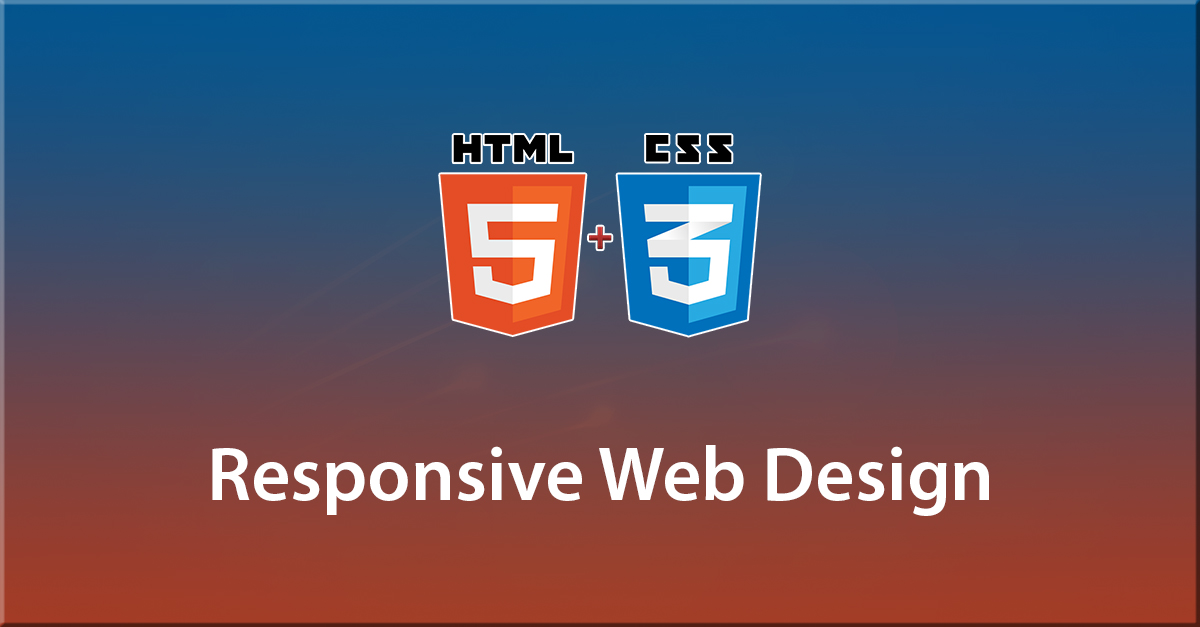 Responsive Web Design with HTML5 & CSS3