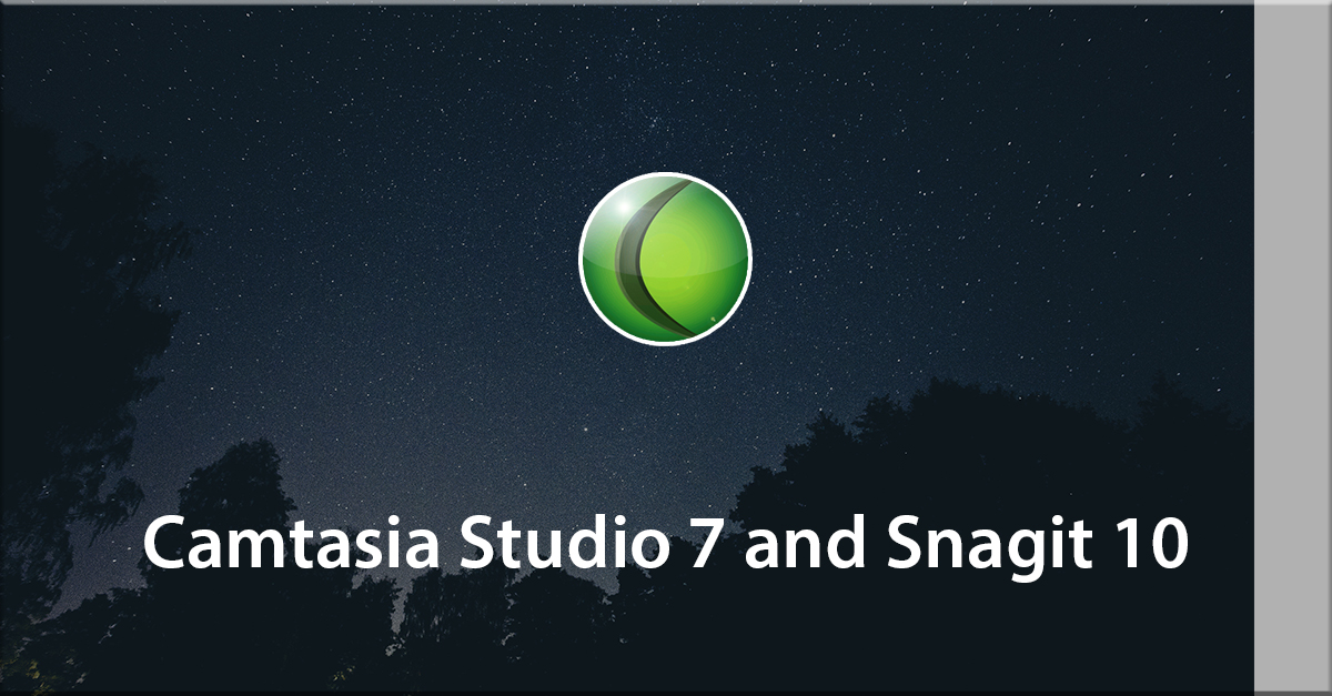 Camtasia Studio 7 and Snagit 10: Know how to work with audio