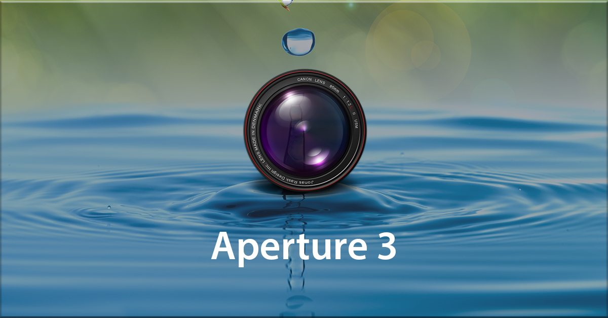 Manage your Photographs with Aperture 3