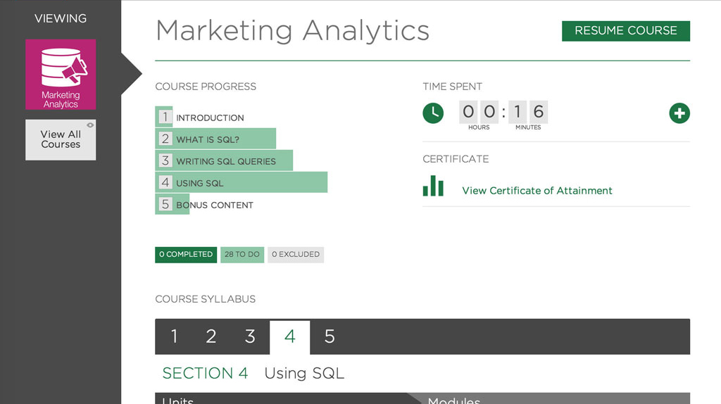 An Essential Online Course: Marketing Analytics, Singapore SKillsFuture elarning online course